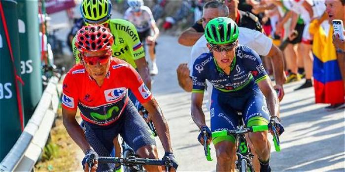 Nairo Quintana, continúa como Líder de la Vuelta España en su etapa 17