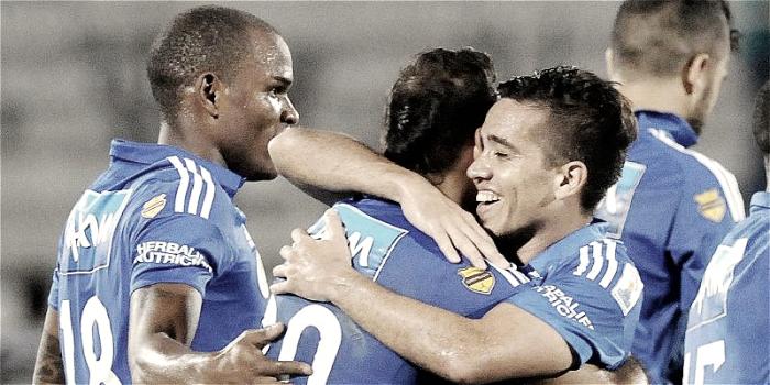 Millonarios gana con contundencia en Copa Águila