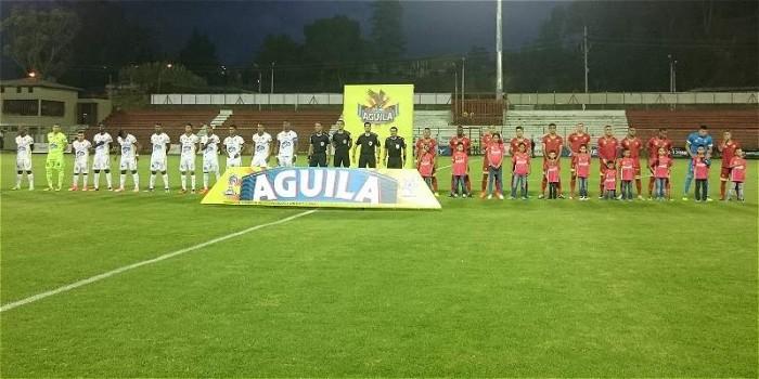 Tolima y Rionegro se repartieron puntos en un partido reñido y parejo