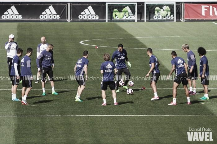 Penúltimo entrenamiento antes del partido decisivo