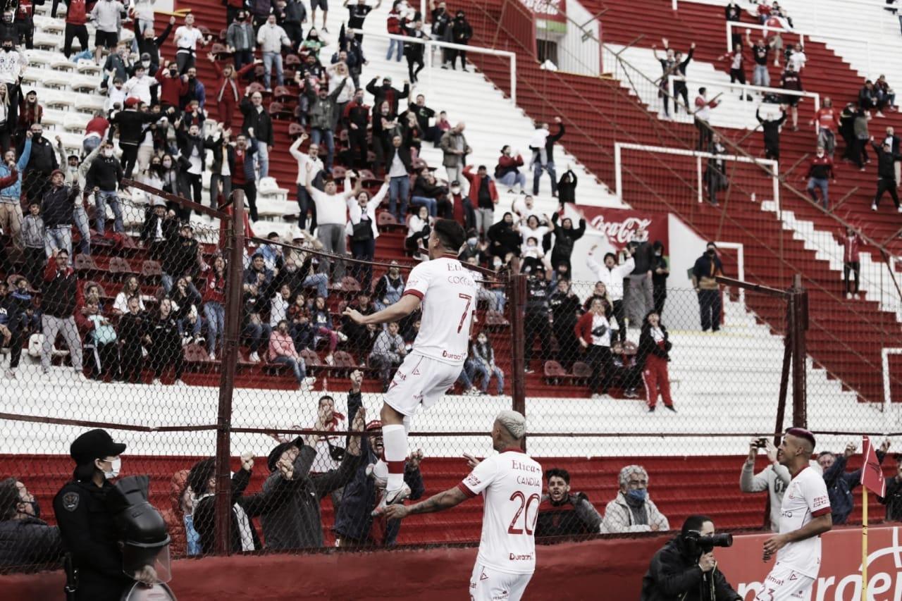 El 'Globo' le ganó a Arsenal en la vuelta del público