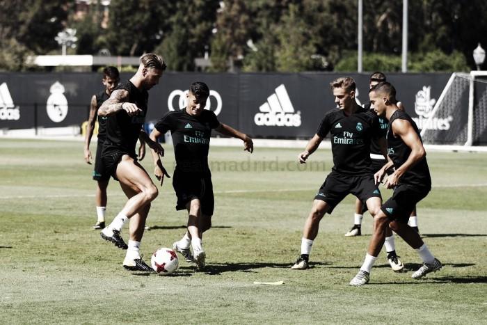Ramos participó en el último entrenamiento blanco en UCLA