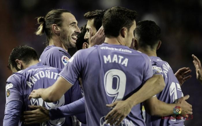El Real Valladolid vuelve a sonreír