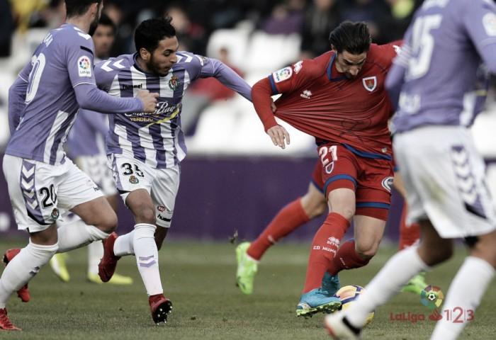 Real Valladolid - CD Numancia: puntuaciones del Valladolid en la jornada 17 de LaLiga 1|2|3