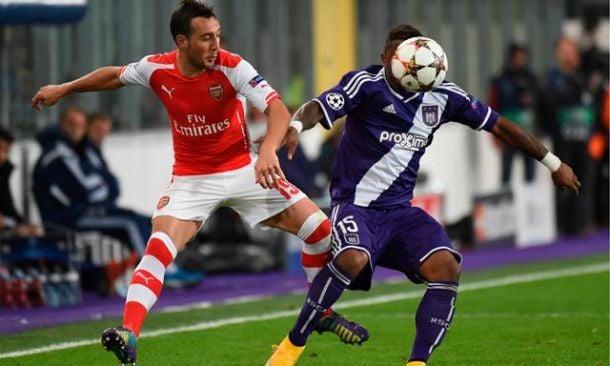 Arsenal - Anderlecht en direct live commenté