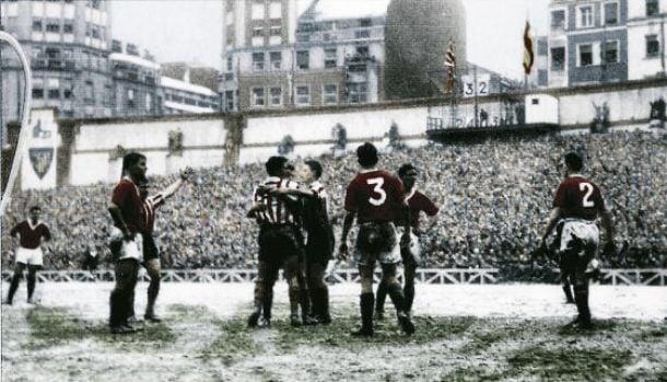 Athletic, en la élite de Europa: 1956-1957