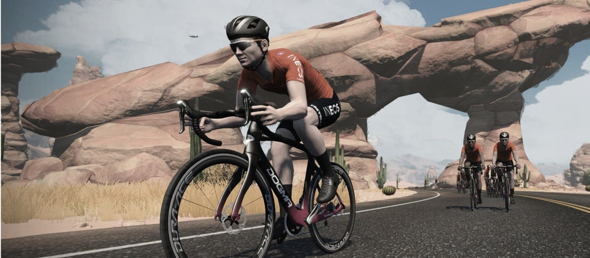 El Team Ineos se une al ciclismo virtual