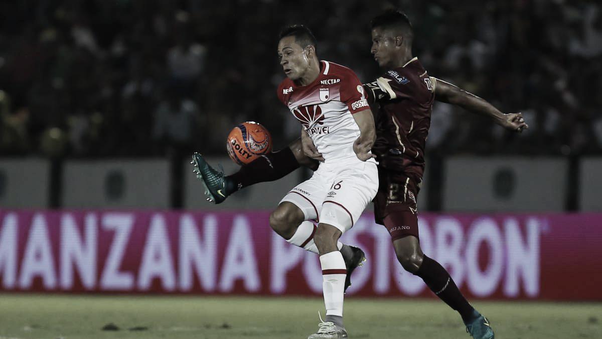Los últimos duelos definitivos entre Independiente Santa Fe y Deportes Tolima