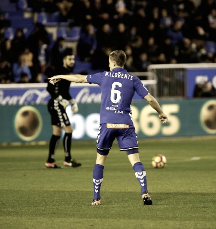 Marcos Llorente: el eje del juego del Alavés