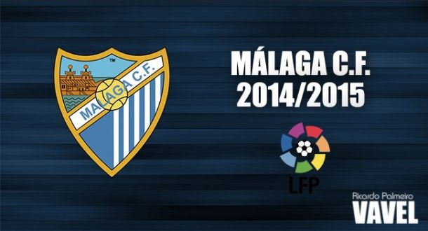 Málaga CF 2014/2015: en busca de la estabilidad perdida