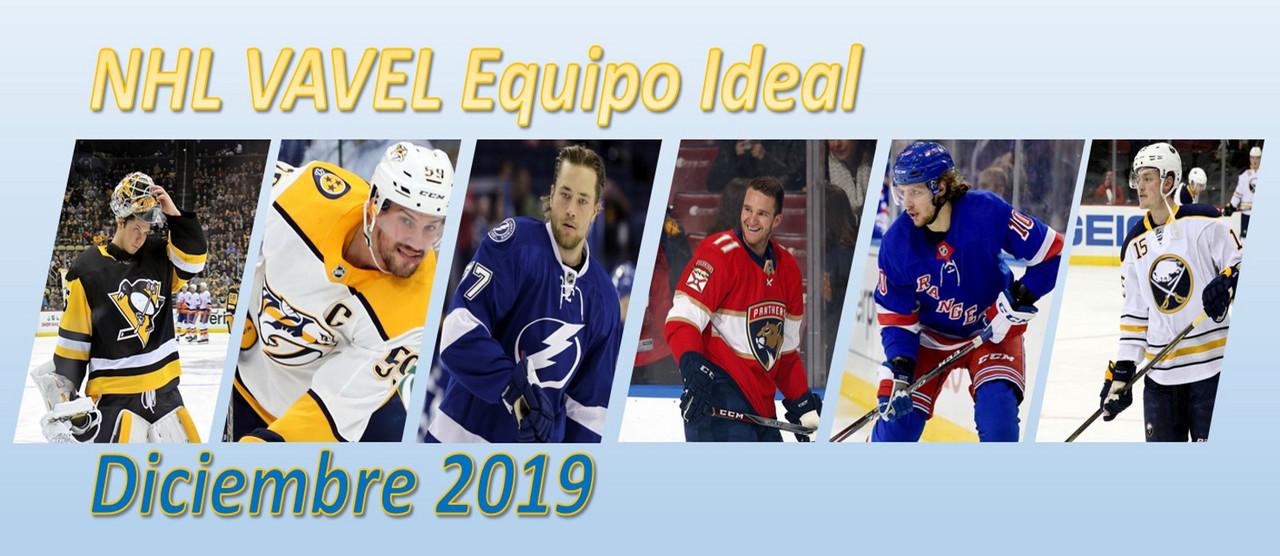 Equipo ideal de la NHL del mes de diciembre de 2019