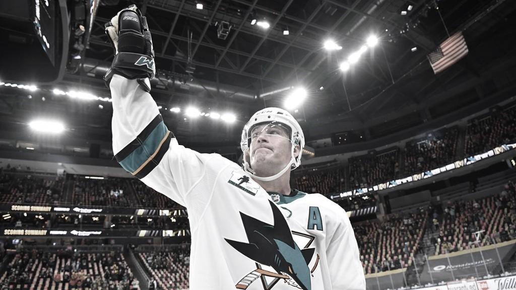 Marleau lidera las estrellas de la semana de la NHL