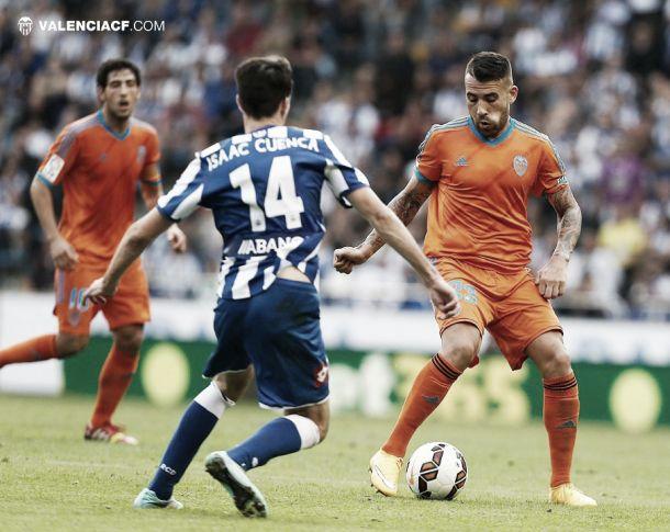 Deportivo - Valencia: puntuaciones del Valencia, jornada 8