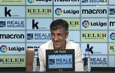 """Imanol: """"Cuando solo puedes marcar un gol hay que saber no encajar"""""""