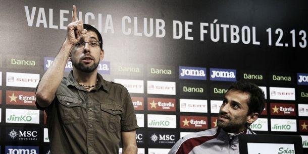 El Valencia traducirá la rueda de prensa del viernes a lenguaje de signos