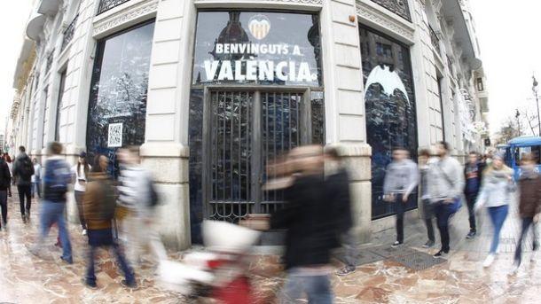 El Valencia inaugurará su nueva Megastore el 28 de noviembre