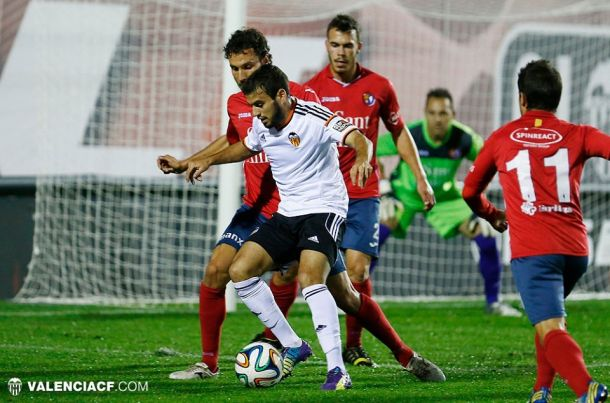 Olot y Valencia Mestalla desaprovechan el pinchazo del Cornellà