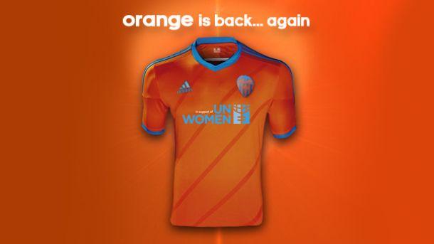 La camiseta naranja será la tercera equipación che