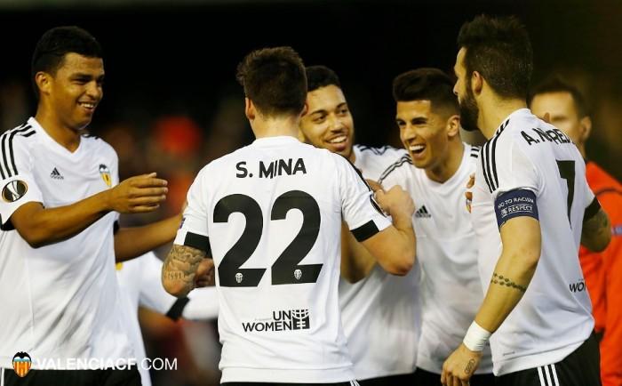 Europa vuelve a Mestalla en forma de goleada