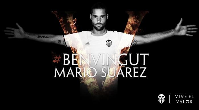 Valencia anuncia contratação do meia Mario Suárez, ex-Watford
