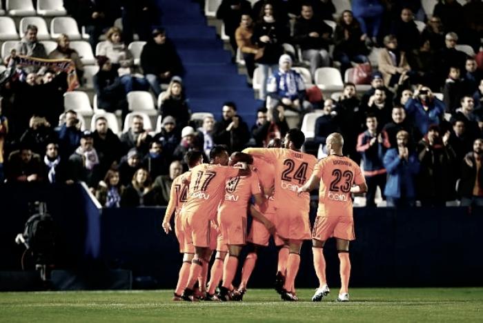 CD Leganés - Valencia CF, puntuaciones Valencia, dieciseisavos de final de Copa del Rey