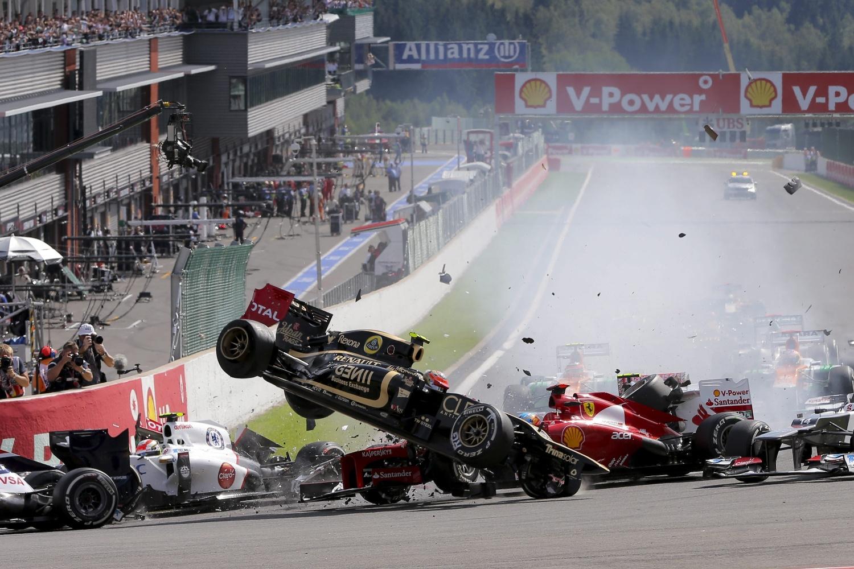 Grosjean, penalizado con una carrera; D'Ambrosio, posible sustituto