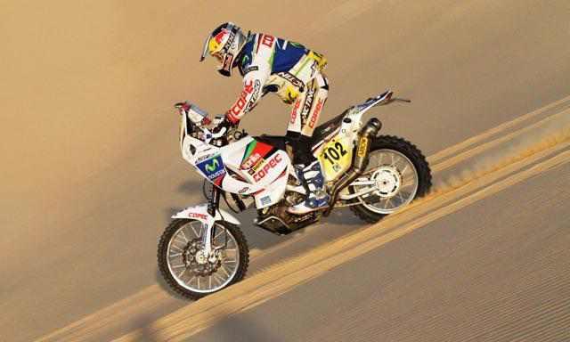Murió Thomas Bourgin en la séptima etapa del Dakar