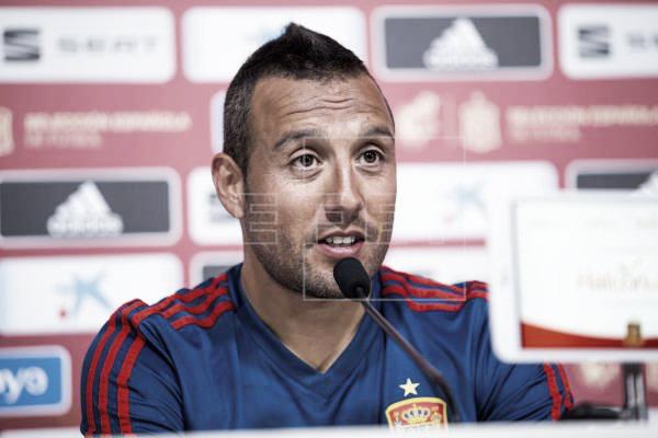 """Santi Cazorla: """"Mi recompensa es volver a la selección"""""""