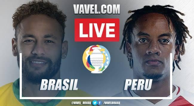 Gol e melhores momentos para Brasil 1x0 Peru pelo Copa América