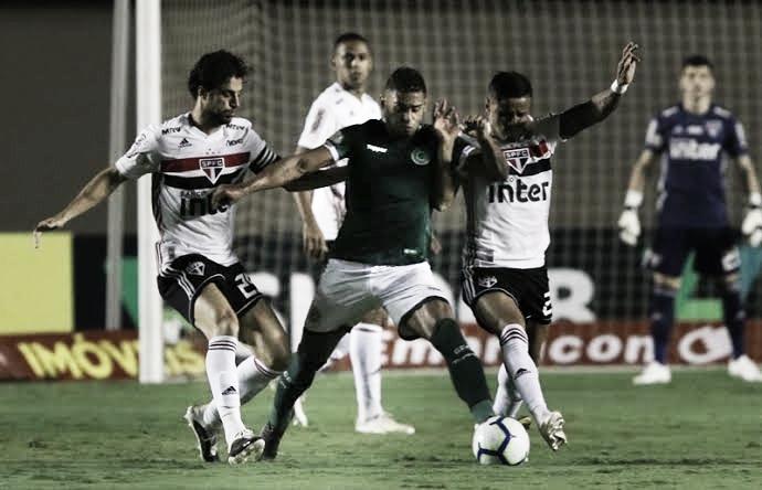 Melhores momentos São Paulo x Goiás pelo Campeonato Brasileiro 2019 (0-1)
