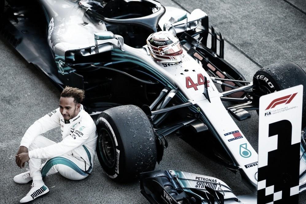 Hamilton, molesto con F1 por silencio en el caso de George Floyd