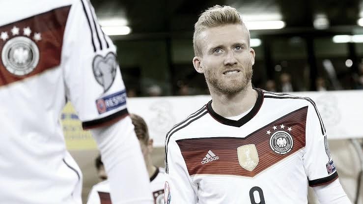 Alemão André Schürrle anuncia aposentadoria aos 29 anos