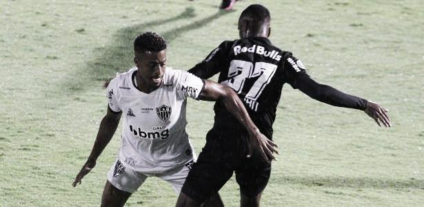 Gols e melhores momentos Bragantino x Atlético-MG pelo Campeonato Brasileiro (1-1)