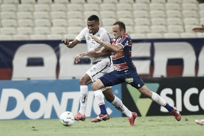 Gols e melhores momentos Fortaleza x Santos pelo Campeonato Brasileiro (1-1)