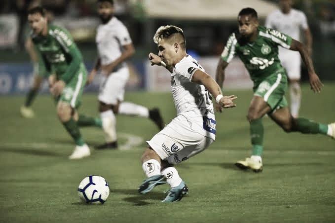 Resultado e gols para Santos 2x0 Chapecoense pelo Brasileirão 2019