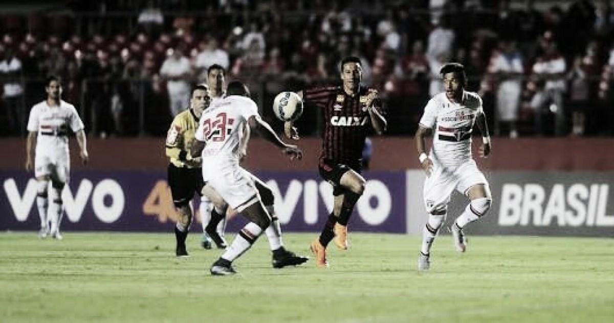 No Z-4, Atlético-PR pega São Paulo contando com retrospecto favorável para buscar alívio