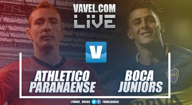 Resultado Athletico-PR 0 x 1 Boca Juniors pela Libertadores