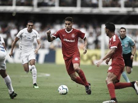 Diante do Santos, Internacional busca manter máximo aproveitamento na Série A