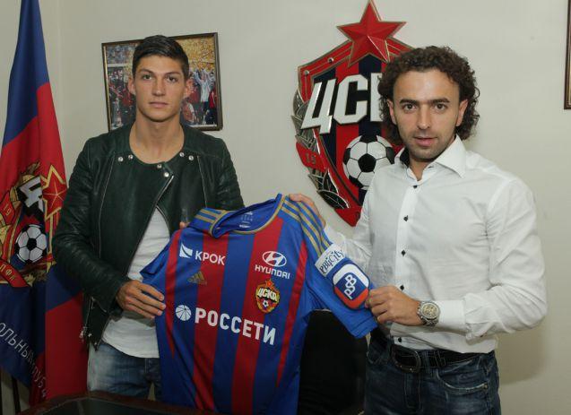 Georgi Milanov et Steven Zuber s'engagent avec le CSKA Moscou
