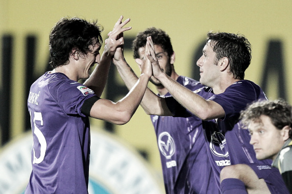 La Fiorentina se lleva el derbi de la Toscana y hunde al Siena