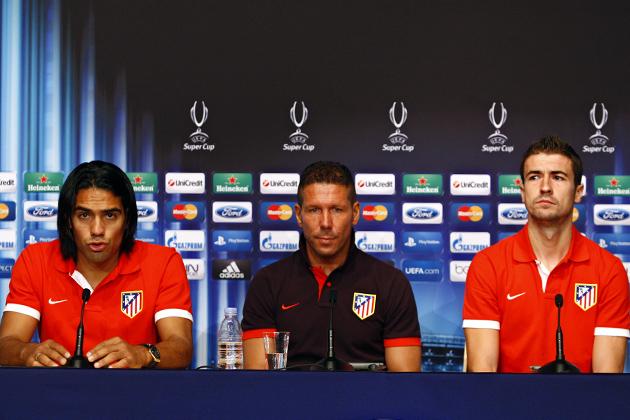 """Falcao: """"Esperemos que el Atlético de Madrid pueda seguir marcando historia a nivel europeo"""""""