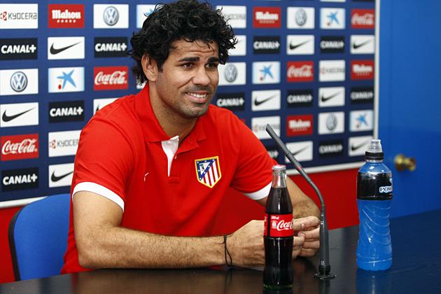 """Diego Costa: """"Tengo cariño al Rayo, pero doy todo por la camiseta del Atlético"""""""