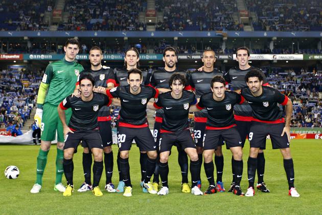 Puntuaciones RCD Espanyol - Atlético de Madrid. Puntuaciones del Atlético de Madrid, 6ª jornada