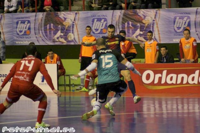ElPozo Murcia - FC Barcelona Alusport: primer 'match ball'