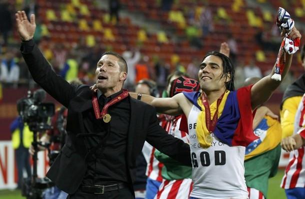 L'Atlético et Falcao (encore) sur le toit de l'Europe