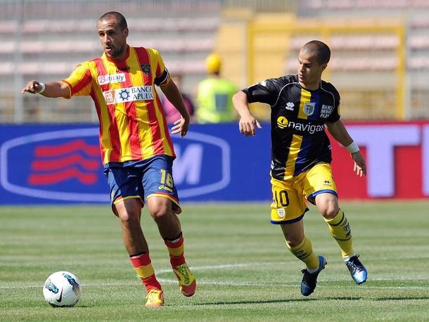 Un Lecce spento perde una grande occasione, 1-2 con il Parma