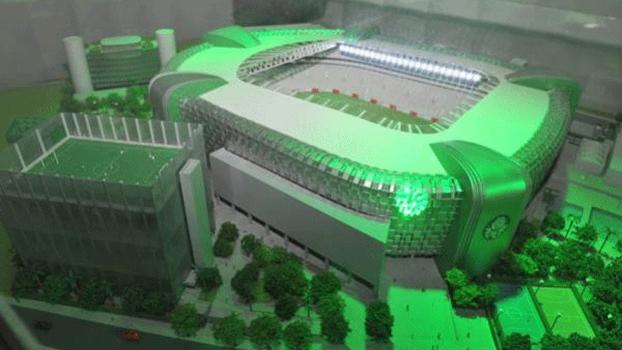 Allianz Parque é o nome escolhido para o novo estádio do Palmeiras