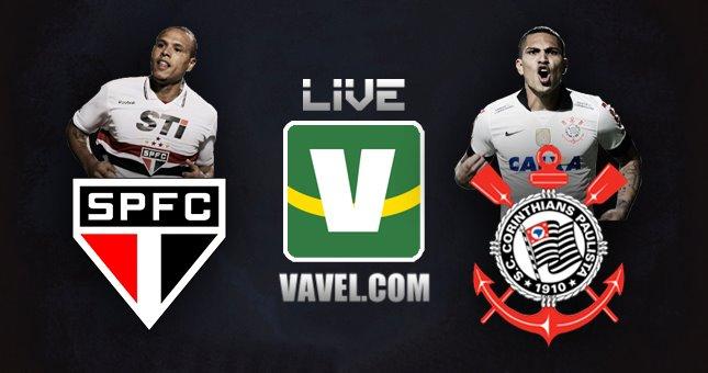 São Paulo - Corinthians, assim acompanhamos