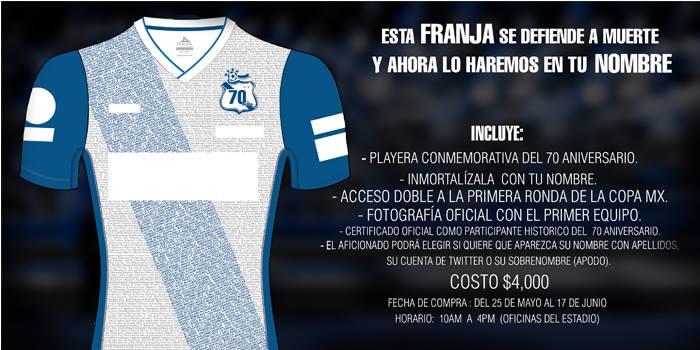 La Franja presenta su tercer uniforme para el torneo 2013-2014