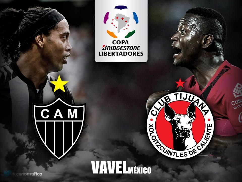 Atlético Mineiro - Xolos: Por el pase a semifinales